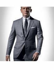 James Bond Tuxedo Gray
