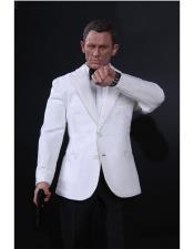 James Bond Tuxedo white