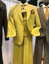 King Suit Yellow