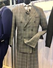 Apollo King Suit Light Brown Plaid