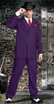 Bold Gangster Dark Purple