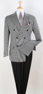 Checker Sportcoat Double Breasted