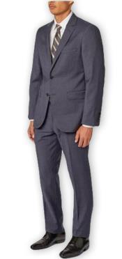 Separates Wool Navy Suit