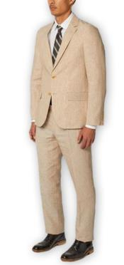 Separates Wool Natural Suit