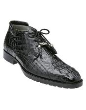 Hornback Crocodile Ankle Boot
