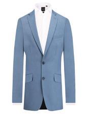 Blue 2 Piece Suit