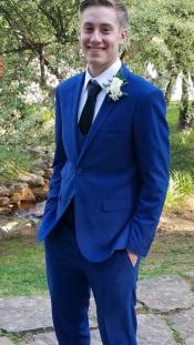 Mens  Suit Navy Blue