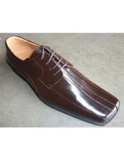 Leather Dress Shoe In