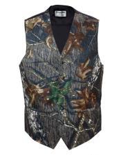 Camo Tuxedo Vest