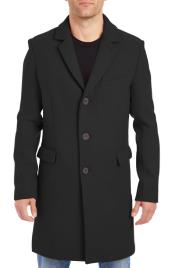 Mens Wool Car Coat ~ Designer