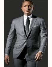 Skyfall Grey Suit