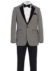 Texture Blazers Dinner Jackets Fancy Blazer Fashion Sport Coat
