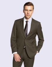 Men's Suit In Olive