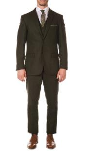 Mens Green Peaky Blinders Fashion Clothing Suit