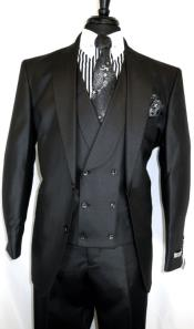 Double Breasted Peak Lapel