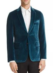 Velvet Blazer Mens Sportcoat