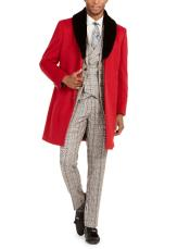 Faux-Fur Trim Overcoat