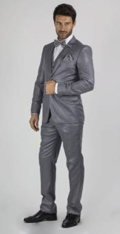 Suit For boy / Guys Medium Grey