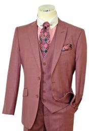 Mauve Color Mens Suits