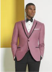 Gold Single Breasted Suits / Tuxedo for Men
