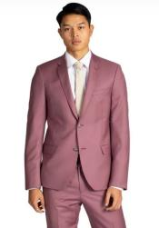 Rose Gold One Chest Pocket Suits / Tuxedo