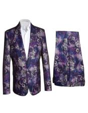 Fashion Suits Purple