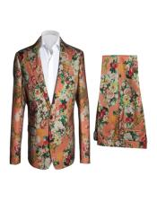 Fashion Suits Coral