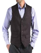 Irish Tweed Grey Vest