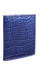 Alligator Skin Wallet - Crocodile Wallet Mezlan Brand LG05-J_JEANS By Mezlan