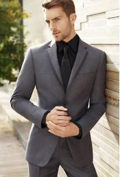 Three-Button-Olive-Color-Suit