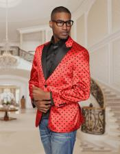 Mens Red Blazer