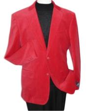 Brand new Red Velour Mens blazer Jacket Velvet Cheap Priced For