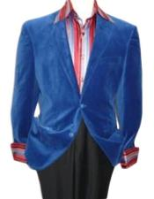 Mens blazer Jacket  Royal Blue Velvet Cheap Priced Unique Fashion Designer Mens Dress Sale Jacket