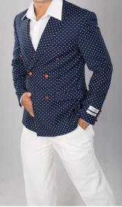 Polka Dot Blazer ~ Dinner Jacket