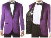 Velour Mens blazer Jacket Velvet Shawl Collar Dinner Smoking  Slim Fit