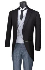 Cutaway Tuxedo Black