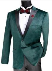 Velvet Plaid ~ Window Pane Velvet Tuxedo Dinner Jacket velour Mens blazer
