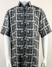 Bassiri Brown Plaid Shirt 3978
