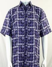 Bassiri Purple Shirt 3977