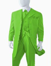 Apple Green Suit