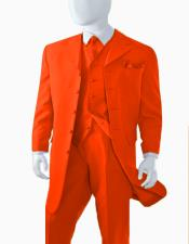 Limited Edition Mens Orange Zoot Suit