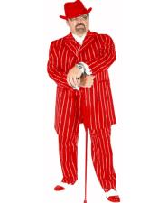 Suit Red/White Pinstripe Coming Sep/15/2020 Zoot Suit Pre Order Limited Collection