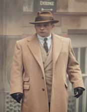 Mens Camel  Two Flap Front Pockets Peaky Blinders Suit - Peaky