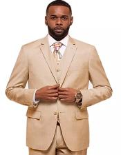 Shell Single Breasted 2 Button Notch Lapel Suit