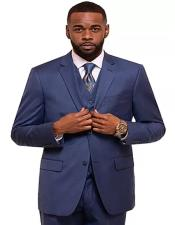Royal Single Breasted 2 Button Notch Lapel Suit