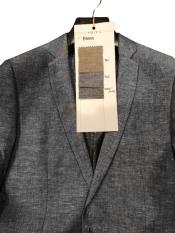 Linen Blazer Gray