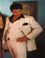 Montana White Suit / Scarface White Suit + Free Black Shirt