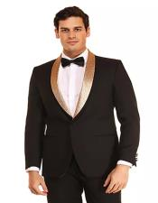 Prom - Wedding Suits & Tuxedo Shawl Collar Tuxedo For Men