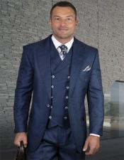 Vested 3 Piece Suit