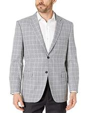 Houndstooth Check Modern fit 2 button side vent jacket